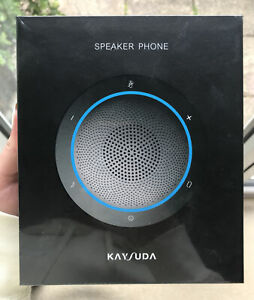 Kaysuda Bluetooth Conference Speakerphone Wireless Microphone and Speaker for