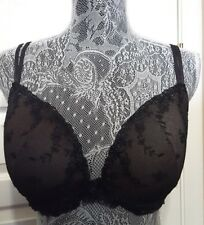 Sexy Black Lace Ambrielle Uplift Underwire 38 D Bra