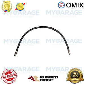 Omix-ADA For 41-53 Willys Jeep 134CID Engine Oil Line Inlet 21.5 Inch - 17470.06