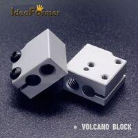 5 PCS 3D Printer VN Aluminium Heater Block For V6 Volcano Hot End Print head.
