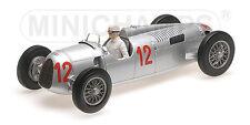 Minichamps 155361012 - AUTO UNION TYP C - HANS STUCK - BUDAPEST GP 1936 1/18