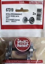 LGB 67319 Metall-speichenradsatz - 2 Achsen für Spur