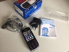 Nokia ASHA 203-GRIGIO SCURO (Senza SIM-lock) come nuovo!!! inutilizzato! 100% originale!