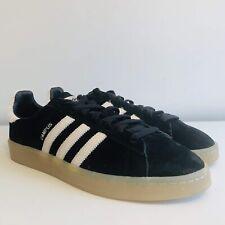 *BNWB* Adidas Originals Campus Black Suede Trainers UK 10   EUR 44.7   US 10.5