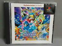 Rockman X3 Best Playstation 1 Japanese Import PS1 PS Mega Man