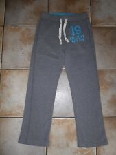 "HOLLISTER Mens Designer Grey Tracksuit Bottoms XS (Waist 28"" Inside Leg 28"")"