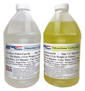 Fabri-Cast 50 Ultra-Low Viscosity Liquid Urethane Casting Resin 1 Gallon