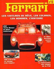 FERRARI 250 Testa Rossa 308 GTB-GTS Nino VACCARELLA Gerhard BERGER Fascicule 18