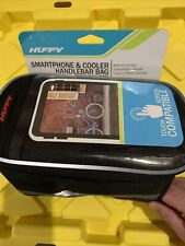 New Huffy Smartphone & Cooler Handlebar Bag. Color Black Bicycle Accessories