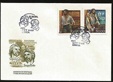 PORTUGAL AFRICA EXPLORERS VASCO DA GAMA SEPRA PINTO FIRST DAY COVER EUROPA 1980