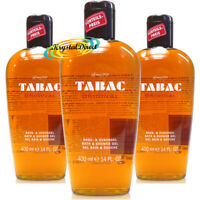 3x Tabac Original Bath & Shower Gel 400ml