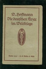 Los médicos alemanes en guerras mundiales 1920 sus logros y experiencias