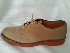COLE HAAN men's shoes, casual/dress size 7.5 D nude, suede, oxfords