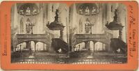 Chiesa Saint-étienne-du-mont De Paris PL37 Foto Stereo Vintage Albumina c1870