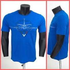 AERONAUTICA MILITARE t-shirt uomo 191TS1621J418 21211 col. AZZURRO estate 2019