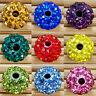 20pcs 10mm  Kristall Perlen Beads Strass DIY Disco Kugel Ball DIY