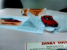 Dinky Toys (Atlas edition) Alfa Romeo Super Sprint. With booklet. 1/43 Diecast.