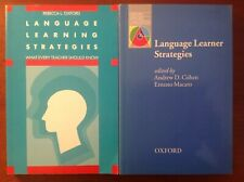 Rebecca L. Oxford  Language Learning Strategies + Language Learner Strategies.
