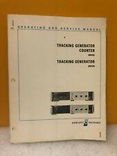 Hp 08443-90028 8443A & 8443B Tracking Generator & Counter Op/Service Manual