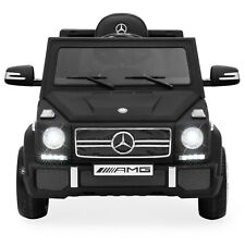 Kids Licensed Mercedes-Benz G65 Suv Ride w/ Parent Control, Aux matte black