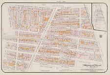 1913, CHARLES E. GOAD, MONTREAL, CANADA, ST. IRENEE R.C. CHURCH, COPY ATLAS MAP