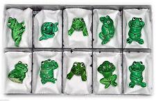 Komplettsatz Happy Frogs Überraschungseier-Sammlerobjekte