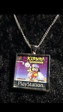 Retro Gaming Necklace And Keyring Playstation PS1 Klonoa Door To Phantomile P