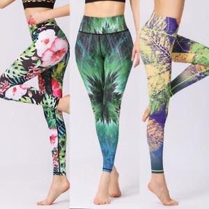 Blumendruck Yogahosen enge Leggings Patchwork bedruckte Yoga Leggings Hose