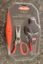 NEW Berkley TEC Superline Line Shears Scissors TSLS 420 Stainless Steel & Sheath
