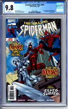 AMAZING SPIDER-MAN #430 CGC 9.8 WHITE PAGES CARNAGE SILVER SURFER 1998