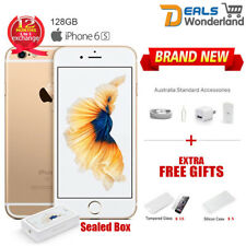 New Sealed Box Apple iPhone 6S 128GB 4G Smartphone Gold Unlocked Phone