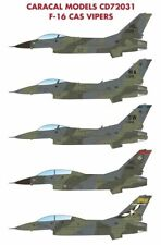 Caracal 1/72 Lockheed-Martin F-16 CAS Vipers # 72031