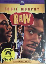 Raw  (DVD, 2004,  R1)  Eddie Murphy  BRAND NEW & SEALED