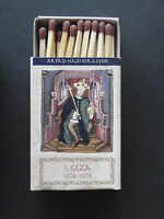 Hungarian Kings - I. Geza_Matchbook w. safety match