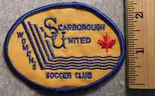 SCARBOROUGH UNITED SOCCER CLUB PATCH (SOCCER, GAME, BALL)
