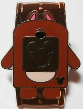 Hidden Mickey Disney Pin Chip Character Magic Bands 2014 Icon Wdw Cast Brown