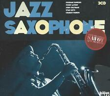 3 CD album - JAZZ SAXOPHONE ( SAVOY ARCHIVES ) digipack COLTRANE LATEEF GETZ