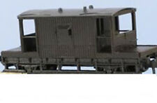 Peco KNR-28 15ft Wheel Base NE or BR Type Brake Van 'N' Gauge WAGON KIT T48 Post