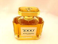 1000 JEAN PATOU 75ml - 2.5oz SPRAY Eau De Parfum Classic VINAGE Scent (B12