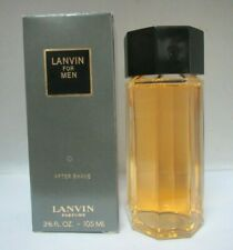 VINTAGE LANVIN FOR MEN  3 3/5 Fl oz/105 ml AFTER SHAVE RARE