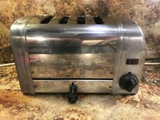 Dualit Toaster Polished Chrome 4 Slice - Refurbished and new elements