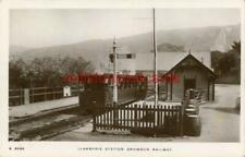 More details for real photographic postcard of llanberis station, caernarfonshire, wales kingsway