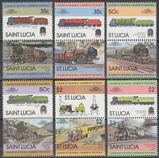 St. Lucia 1983 ** ex Mi.612/27 Eisenbahn Railway Flying Scotsman [sq6268]
