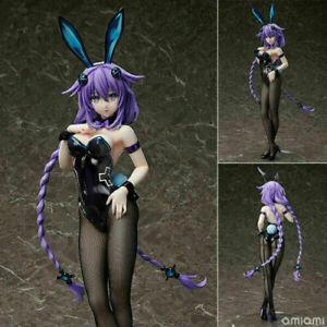Anime Hyperdimension Neptunia Purple Heart Bunny Ver. 1/4 PVC Figure