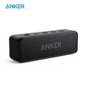 Anker Soundcore 2 Portable Wireless Speaker Better & IPX7 Waterproof 24Hour play