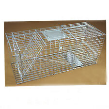 Hot Folding Animal Trap Cage Humane Live Possum Fox Rat Cat Rabbit Hare Catch