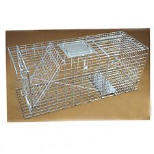 Hot Folding Animal Trap Cage Humane Live Possum Fox Rat Cat Rabbit Hare Catch