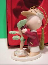 LENOX MERRY CHRISTMAS CHARLIE BROWN ornament NEW in BOX Peanuts