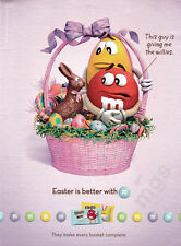 M&Ms Easter Basket Print ad 2015 - That Guy is Giving me the Willies