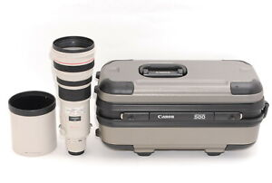 Almost Mint In Case Canon EF 500mm F/4 L IS USM Telephoto AF Lens From Japan